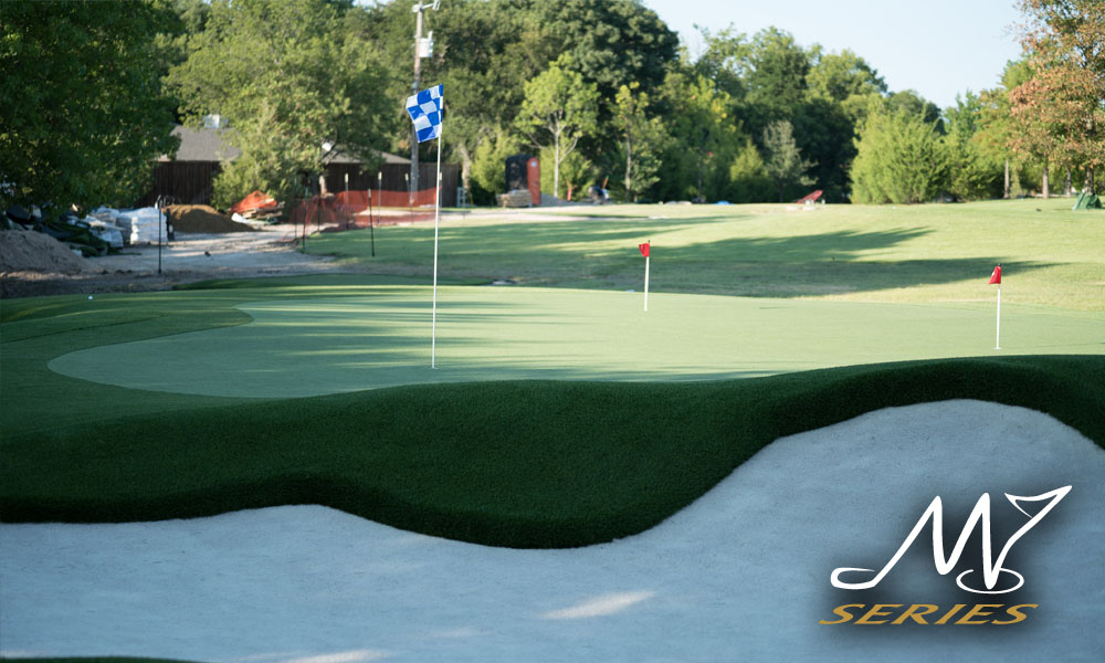 masters series synthetic putting green custom professional golf complexes